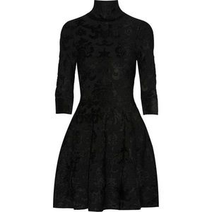 Brand New w/ Tags ISSA Jacquard Velvet Dress M
